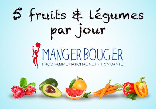 5 fruits et légumes par jour